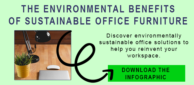 Sustainable Office Furniture Infographic CTA button
